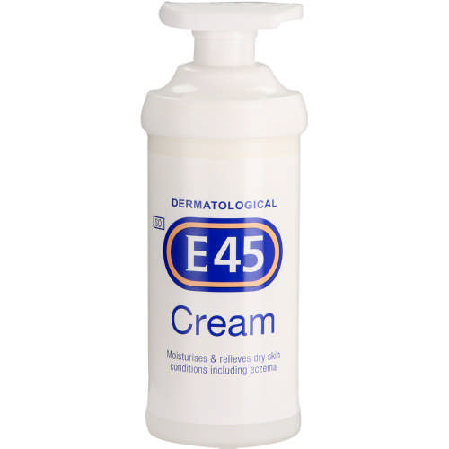 E45 Moisturising Cream Pump - 500g