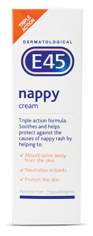 E45 Junior Range Nappy Cream - 125gm - Cantomart.co.za