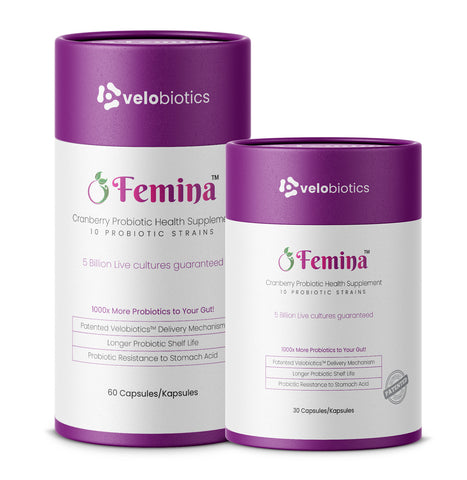 Femina Probiotics Capsules with Cranberry for Women - Cantomart.co.za