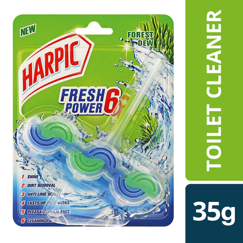 Harpic Fresh power 6 Forest Dew - 35g - Cantomart.co.za