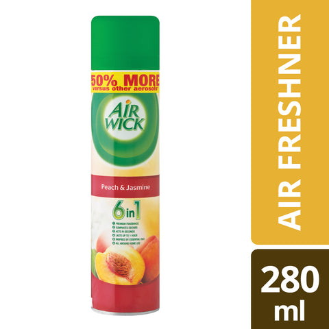 Airwick Air Freshner Peach and Jasmine - 280ML - Cantomart.co.za