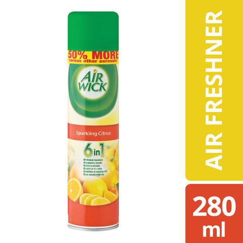 Airwick Air freshner Sparkling Citrus - 280ML - Cantomart.co.za