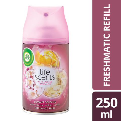 Airwick Freshmatic Life Scents Refill Summer Delights - 250ML - Cantomart.co.za