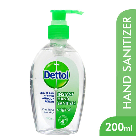 Dettol Hand Sanitiser-200ml - Cantomart.co.za