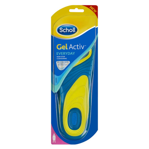 SCHOLL Gel Active Insoles Everyday Women -1 - Cantomart.co.za