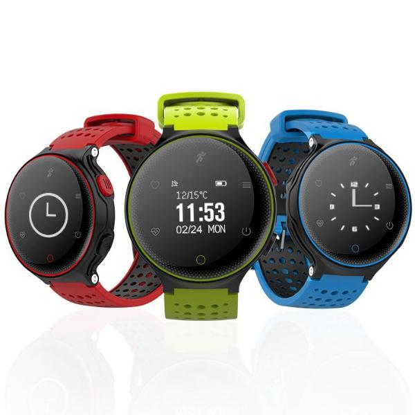 Sports Smart Watch - IP68 Waterproof - For iOS & Android