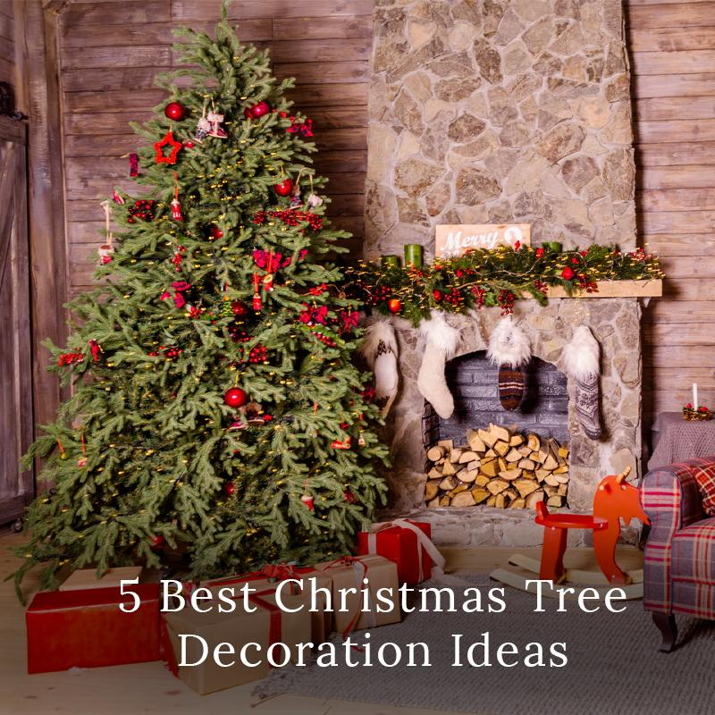 5 Best Christmas Tree Decoration Ideas