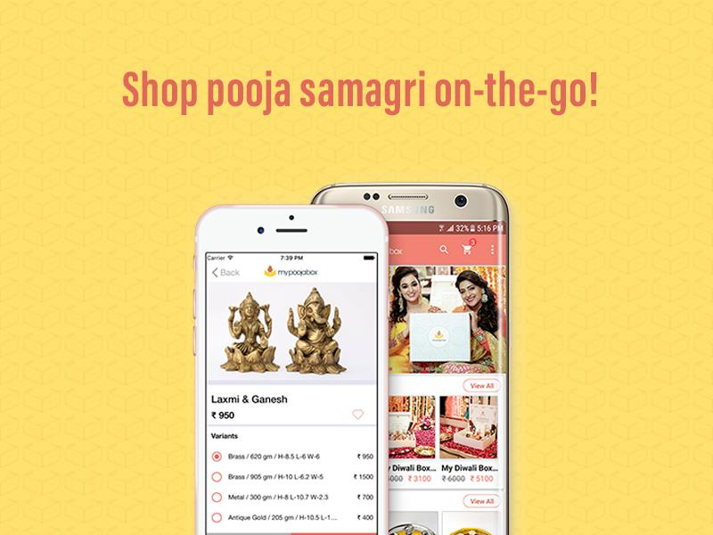 Shop Puja Samagri On-the-Go with My Pooja Box App!