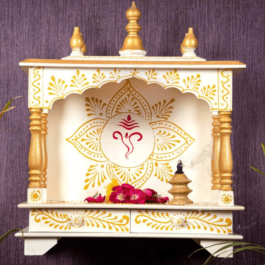 Top 15 Latest Wooden Pooja Mandir Temple Designs For Home