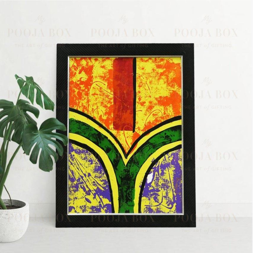 Artistic Colourful Painting For Home Decor