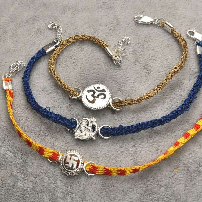 Bracelet Rakhi for your loving brother