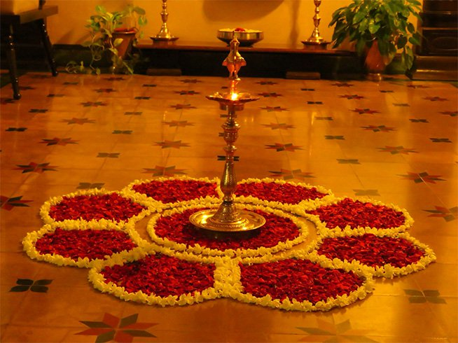 Diwali Flower Decoration
