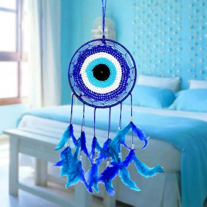 Evil Eye Dream Catcher for Positive Energy And Protection