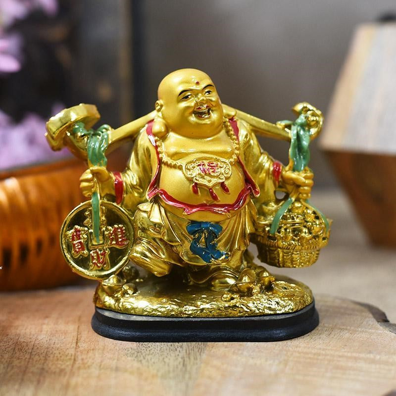 Feng Shui Golden Laughing Buddha is the best Corporate Diwali Gifts Ideas for Employees