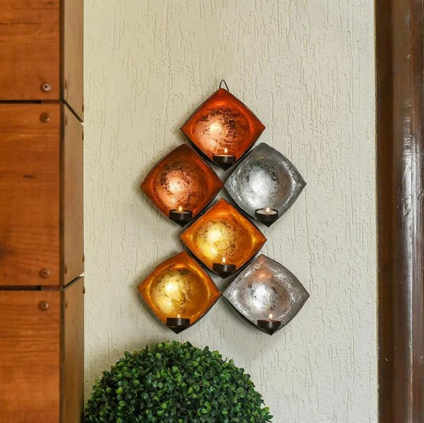 Glimmer Wall Decor T-Light Holder