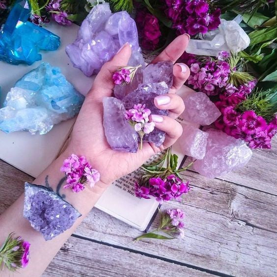 how do healing crystals work?