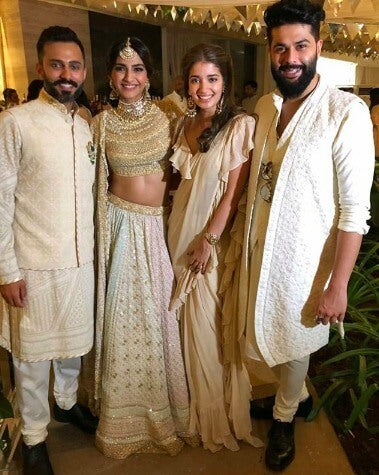 Anand Ahuja Sangeet Ceremony