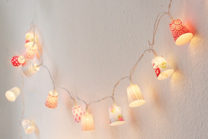 Paper Cup Fairy Lights