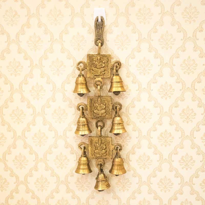 Brass Bell Wall Hanging
