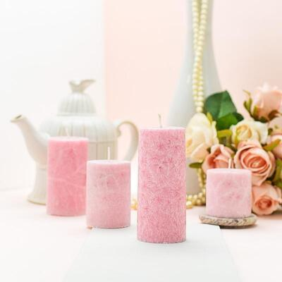 Scented Pillar Candles also best gift ideas for housewarming ceremony