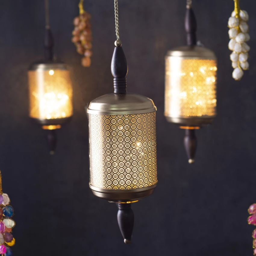 Traditional Cutwork LED Light Hanging