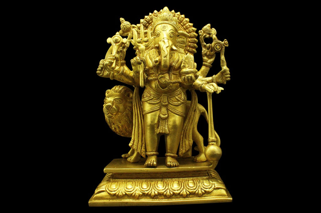 The Rare Sushumna Ganesh Idol