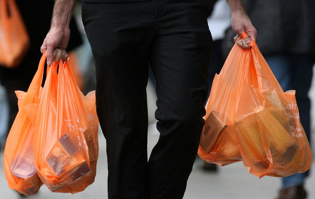 ways to save the environment-re use the plastic bags