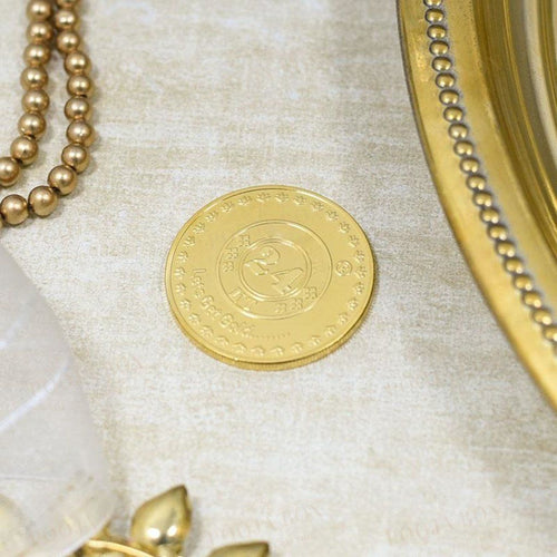 24K Gold Foil Golden Temple Coin & Bar