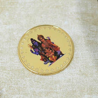 24K Gold Foil Shiv Parivaar Coin & Bar