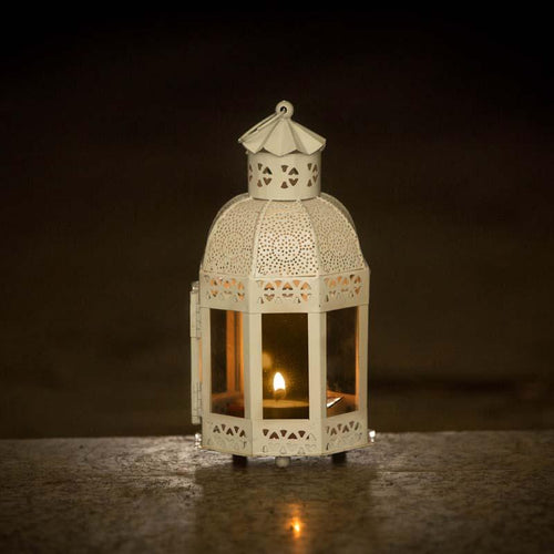 Beautiful Moroccan Hanging Lighting Lantern/Lamp (Set of 3)