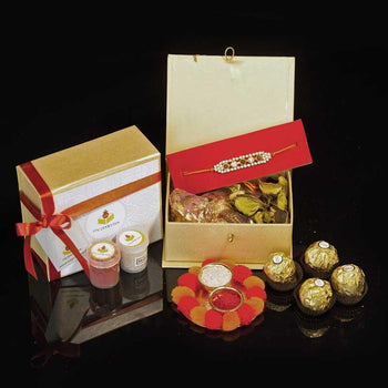 Stunning Rakhi Box with Ferrero Rocher