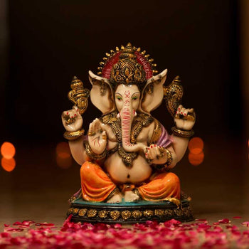 Graceful Divine Lord Ganesha Idol Showpiece for Home Decor & Gifting