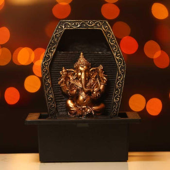 Fancy Lord Ganesha Indoor Water Fountain