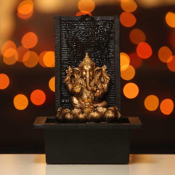 Divine Lord Ganesha Table Water Fountain