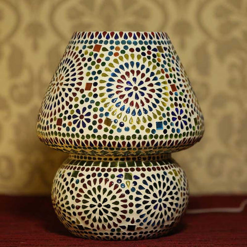 Stunning Glass Mosaic Lamp