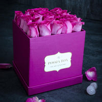 Lilac Roses - Bright Pink Flora Box