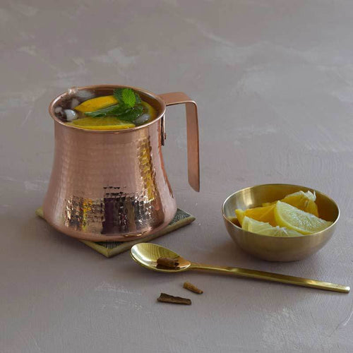Arched Copper Mule Mug