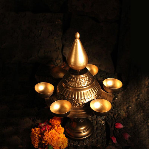 Enchanting Deepavali Traditional Tlight Lamp