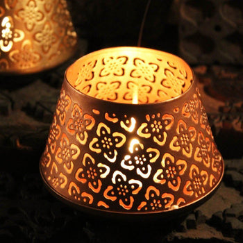 Elegant Handcrafted Nudara Votive T-light Holder