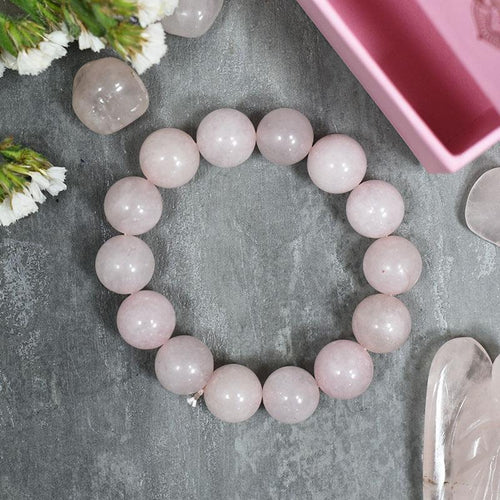 Rose Quartz 'Love' Band/Bracelet