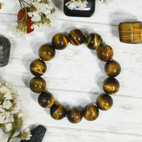 Tiger Eye Bracelet⎮Will Power & Protection from Black Magic