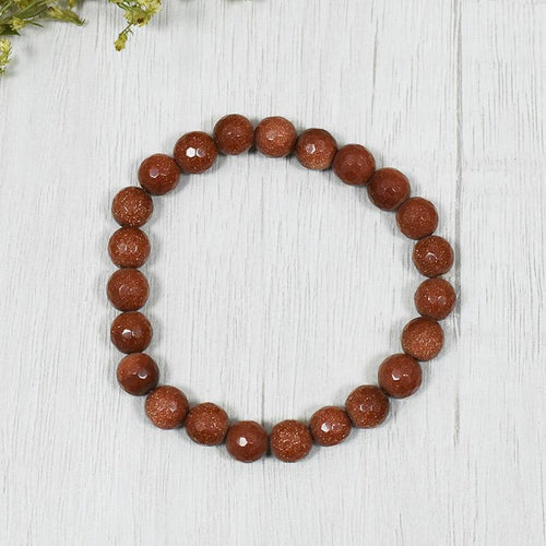 Goldstone Brown Bracelet | Abundance & Courage