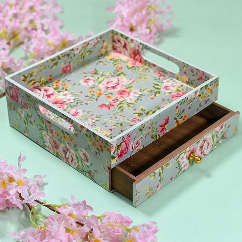 Multi Utility Tray with Drawer