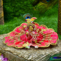 Elegant Laddu Gopal Floral Dress