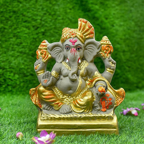 1FEET Alampata Eco-Friendly Ganpati | Plant-A-Ganesha