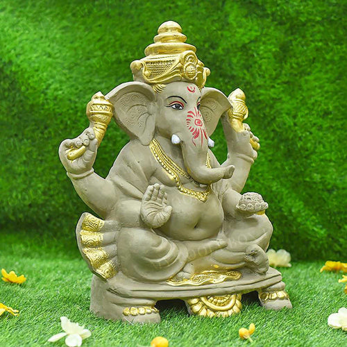 1.5FEET Karunya Eco-Friendly Ganpati | Plant-A-Ganesha