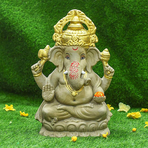 1.5FEET Siddhaye Eco-Friendly Ganpati | Plant-A-Ganesha