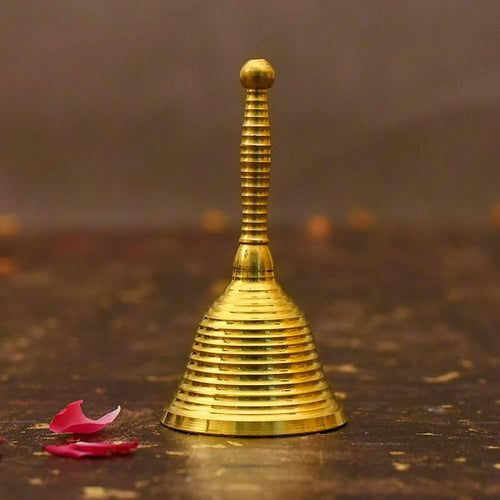 Traditional Brass Pooja Bell