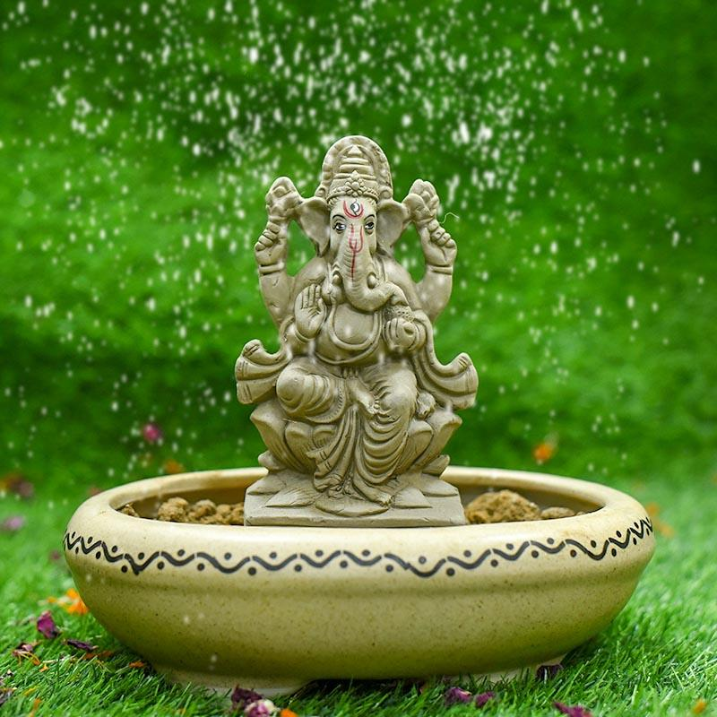 6INCH Nandana Eco-Friendly Ganpati