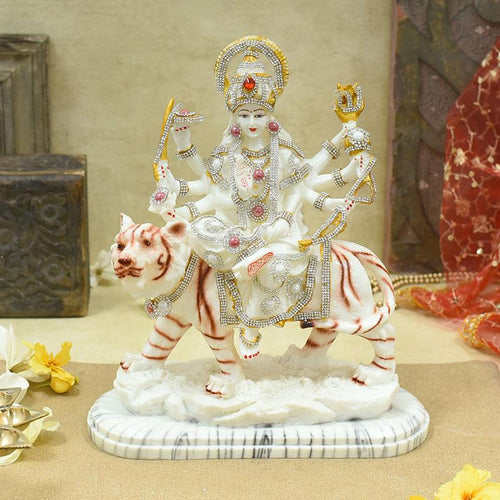 Glorified Maa Durga Idol